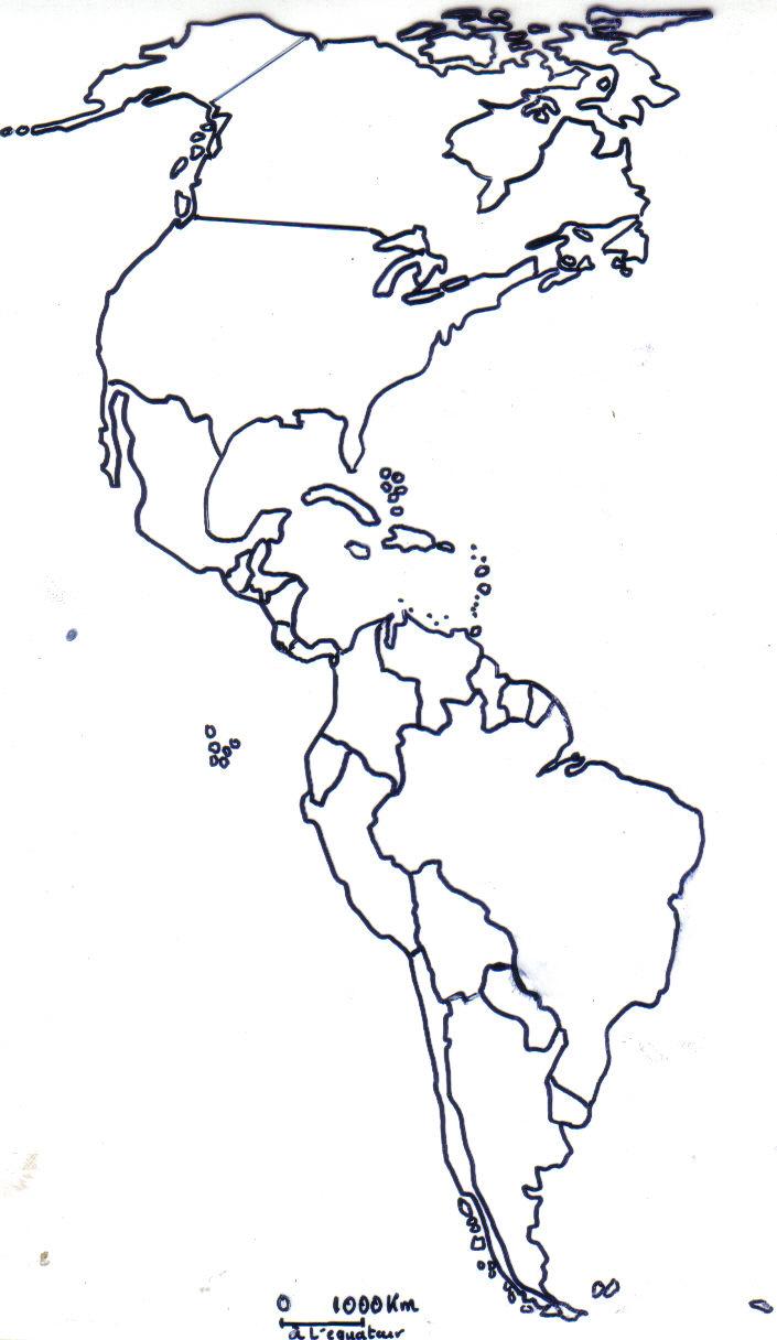 carte muette fond de carte littoraux principales villes Car Tuning